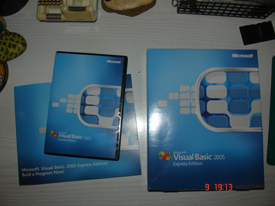 Visual basic 2005 EE pack