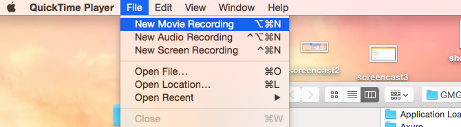 iPhone screencast with iOS 8 and OS X Yosemite